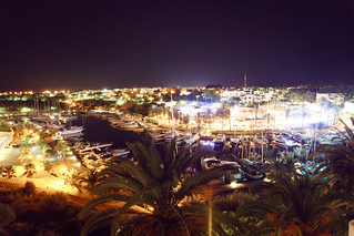 Palma City at night