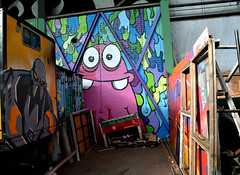 graffiti amsterdam (wojofoto) Tags: amsterdam graffiti nol wolfgangjosten wojofoto villafriekens