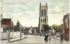 St Benedict's Church (St. Benignus or St. Bennings), Benedict Street, Glastonbury, Somerset (Alwyn Ladell) Tags: glastonbury somerset stbenedictschurch benedictstreet stbenignuschurch stbenningschurch