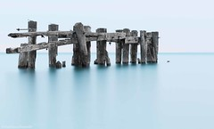 tropical fifty (martinaschneider) Tags: longexposure summer lake ontario sunrise pier lakeontario fiftypoint