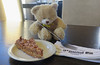 Teddy & Cake! (Katie_Russell) Tags: bear ireland ted cake toy cafe teddy chocolate nuts ground caramel teddybear northernireland ni nut nutty honeycomb choc ulster nireland norniron coleraine countylondonderry choccie countyderry coderry colondonderry snickerscake colderry countylderry