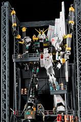 MG nu gundam ver ka (Eric Tong Photography) Tags: hangar gundam diorama bandai gunpla verka rx93