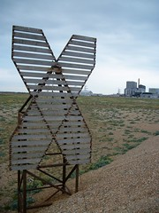 X MARKS THE SPOT (poppycocqu) Tags: sky grass sign outdoors wooden kent board x single dungeness powerstation xmarksthespot bleack