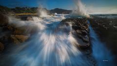 Waves splashing (Alex cheong) Tags: seascape landscape waves sony nsw splashing turimetta sonya7r fe1635mm