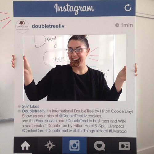 Doubletree Instagram frame