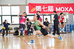 7thMoxaBadmintonIndustrialCup130 (Josh Pao) Tags: badminton 師大附中 羽球 大安站 moxa 第七屆 邀請賽 艾訊 四零四 axiomtek 工業盃 工業電腦盃
