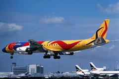 My 1000th picture on Flickr (GeorgeM757) Tags: airplane airport aircraft aviation landing calder braniff dc8 mcdonnelldouglas dc862 kmia miamiinternational n1805 alltypesoftransport georgem757