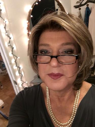 Mature women selfie