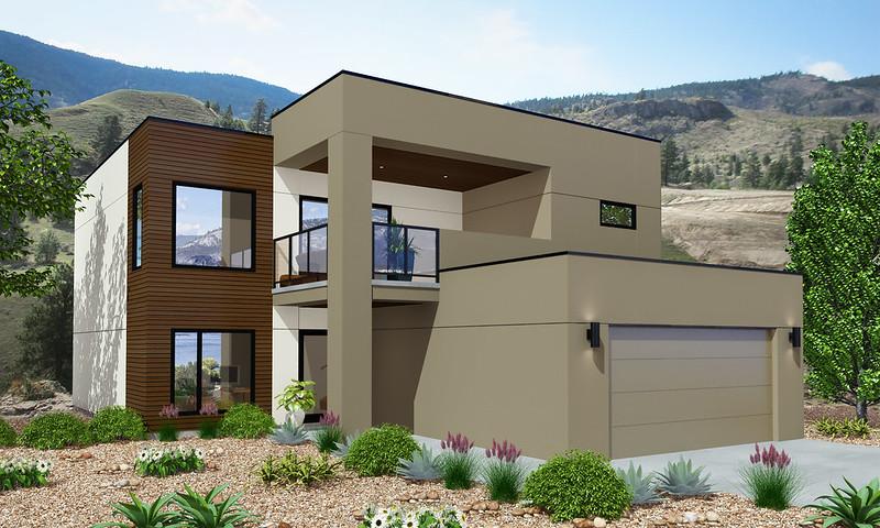 Vanner home rendering (front)