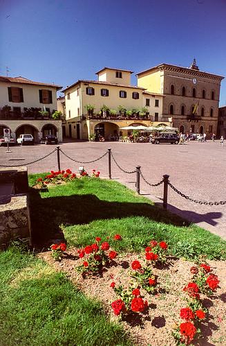 Village near San Gimignarno