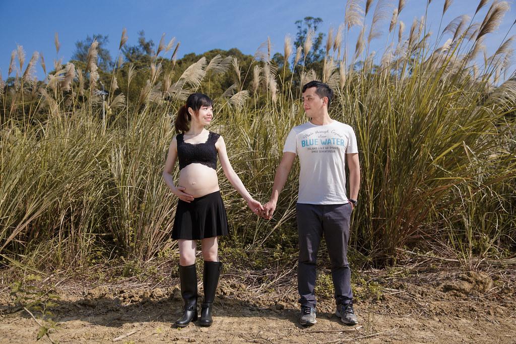 孕婦寫真,孕婦攝影,樹林孕婦,芒草孕婦,草原孕婦,Ajax&Far164