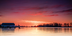Sunrise At Steveston Fishermans Wharf - 30-Nov-2015 (f/13 photography) Tags: canada max water vancouver sunrise river grey one fishing bc columbia richmond filter wharf pro fishermans british 12 hr reverse fraser f56 phase 90mm 90 steveston graduated density neutral alpa rodenstock gnd p45 9056 hrsw progrey