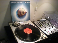 Jean-Michel Jarre - Oxygene (DJ Zyron) Tags: music dj vinyl turntable lp record jarre