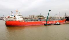 """GINGA COUGAR"" - IMO 9321861 (Rick Vince) Tags: vessel tanker vopak tokyomarine merchantship chemicaltanker gingacougar imo9321861 vopakvlaardingen"
