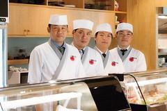 เชฟผู้เชี่ยวชาญประจำร้าน Waza Sushi