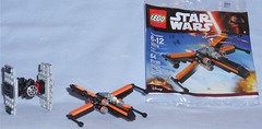 Lego 30278 - Poe's X-Wing Fighter (Darth Ray) Tags: star fighter order force lego tie first special target xwing wars poes exclusive forces awakens 30276 30278