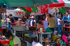 Festejando el 16 de septiembre en coyoacan 105 (L Urquiza) Tags: street coyoacan mexico city ciudad cdmx color vendors