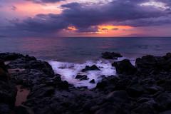 'Wailea' (JEMiguel007) Tags: sigma wailea jmp hawaii sunset rocks water ocean purple landscape nikon