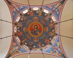 DSC_8377 (AndrewGould) Tags: orthodox dome fresco mural iconography byzantine russian holy ascension