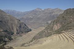 Peru (richard.mcmanus.) Tags: peru pisac andes mountains hills terraces inca historic landscape mcmanus latinamerica