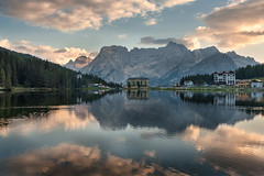 Misurina reflections (Luca Matassoni) Tags: landscape landscapes mountains mountain mount horizon clouds cloud cloudy cloudporn sky skyporn bluesky sun sunny flares rays travel travelling traveler traveller wandering wanderlust freedom free wild wildlife wildandnature nature hiking trekking explore exploring photography photograph landscapephotography naturephotography canon canon5d lake misurina veneto italy lagodimisurina