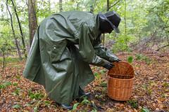 5DA07434_Gummimantel_gruen_kl (helani44) Tags: gummimantel gummistielel outdoor gummicape gummhandschuhe regenmantel gummihut regenhut