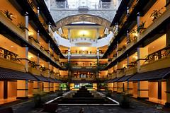 Hotel interior courtyard (A. Wee) Tags: sheraton  yogyakarta indonesia  mustika resort hotel  spg courtyard