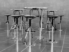 abstract reality (Werner Schnell Images (2.stream)) Tags: ws sitzplatz sitz stuhl seat tisch desk wallrafrichartzmuseum kln