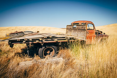 Time Is A Thief (Pedalhead'71) Tags: garfieldcounty washington abandoned truck