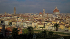 Florence (Diego Innocenti) Tags: florence firenze italy italia hs20 hs20exr toscana tuscany landscape city piazzale michelangelo piazzalemichelangelo duomo palazzovecchio campanile towerbell tower bell towerbells
