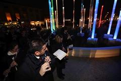 Piazzale Marconi, la rotonda luminosa (14) (Comune di Reggio Nell'Emilia) Tags: piazzale marconi rotonda reggioemilia inaugurazione
