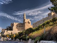 tower of david in HDR (dgoldenberg52) Tags: israel jerusalem capital city urban