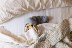 With an extra hour (Arielle.Nadel) Tags: danbo danboard revoltech yotsuba toyphotography sleep ariellenadel bed cute daylightsavingstime ダンボー よつばと