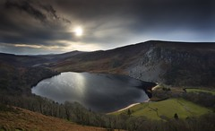 Lough Tay Sunset (Kevin.Grace) Tags: wicklow ireland ough lough tay lake landscape reflection sunset