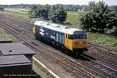 22/06/1981 - Chaloners Whin Junction, York. (53A Models) Tags: britishrail deltic class50 50036 victorious diesel train york railway locomotive railroad