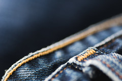 Textures and Stitch (m@t.) Tags: macro macromondays stitch jean blue texture tamron90 nex sony textures week462016 52weeksthe2016edition weekstartingfridaynovember112016