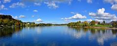Lac de Brt (Diegojack) Tags: paysages panorama lac brt automne bleus couleurs