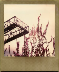 Landschaftspark Duisburg Nord (somekeepsakes) Tags: 2016 colorfilmforsx70 goldframe lapadu landschaftsparkduisburgnord roidweek2016 ruhrgebiet sx70 tip analog analogue day6 deutschland duisburg europa europe film germany impossible industriekultur instant polaroid sofortbild theimpossibleproject