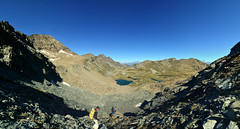 Descending on the rock glacier (supersky77) Tags: parconaturaledelmontavic parcnatureldumontavic avic montavic lago lake lac rockglacier alpi alps alpes alpen aosta valledaosta valledaoste