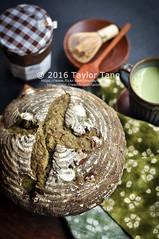 Matcha Chestnut Bread (TailorTang) Tags: matcha greentea chestnut maron food foodphotography stilllife 50mm 5014 green japanese chestnutpuree