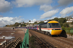 Anti Nostalgia? (Richie B.) Tags: 1a17 inter city intercity teignmouth devon great western railways brel british rail class 43 hst high speed train 43185