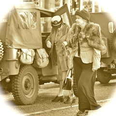 _DSC2781 Pickering wartime weekend 2016 (petelovespurple) Tags: 1940s 2016 ww2 wwii women ladies landgirls lasses girls boys lads gentlemen men people petee pickering plp pickeringwartimeweekend pickeringwarweekend wartimeweekend warweekend walking talking drinking costumes cosplay candid reenactment vintage nikon d90 northyorkshire nostalgia nylons smiling stockings skirts sexy seamedstockings seams shoes happy hats heels fun festival furs forties enjoyment england trousers yorkshire yesteryear uniforms uk army dressup dresses frills gals boots beautiful northyorkmoors