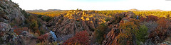 At the Wichita Wildlife Refuge Narrows (rgb48) Tags: wichitamountains oklahoma lawton narrows panorama