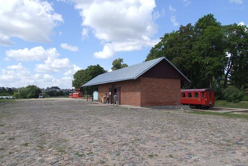 At the Anykščiai narrow-gauge railway station, 04.08.2013.