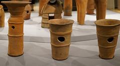 Haniwa, cylinders