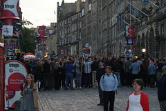 Edinburgh Festival Fringe (Secondcity) Tags: edinburgh edinburghfestivalfringe highstreet royalmile