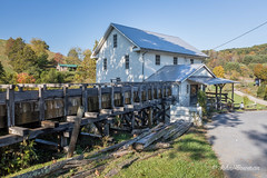 Old-time Revival (John H Bowman) Tags: virginia washingtoncounty mills whitesmill millraces nrhp tinroof fencesandgates october2016 october 2016 canon16354l