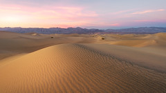 Death Valley (David Colombo Photography) Tags: deathvalley dunes mesquitedunes sanddunes sunset sand clouds sky pink gold goldenhour nationalpark california stovepipewells outdoor landscape nikon d800 davidcolombo davidcolombophotography