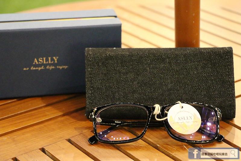 ASLLY濾藍光眼鏡抗UV紫外線女性潮流眼鏡013