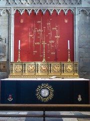 Altar Embroideries, York Minster (Aidan McRae Thomson) Tags: york minster cathedral yorkshire altar reredos modern contemporary embroidery